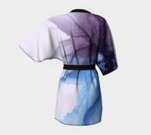 Load image into Gallery viewer, Kimono Robe:  Blue Moon