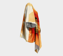 Load image into Gallery viewer, Draped Kimono:  Mandarin Orange
