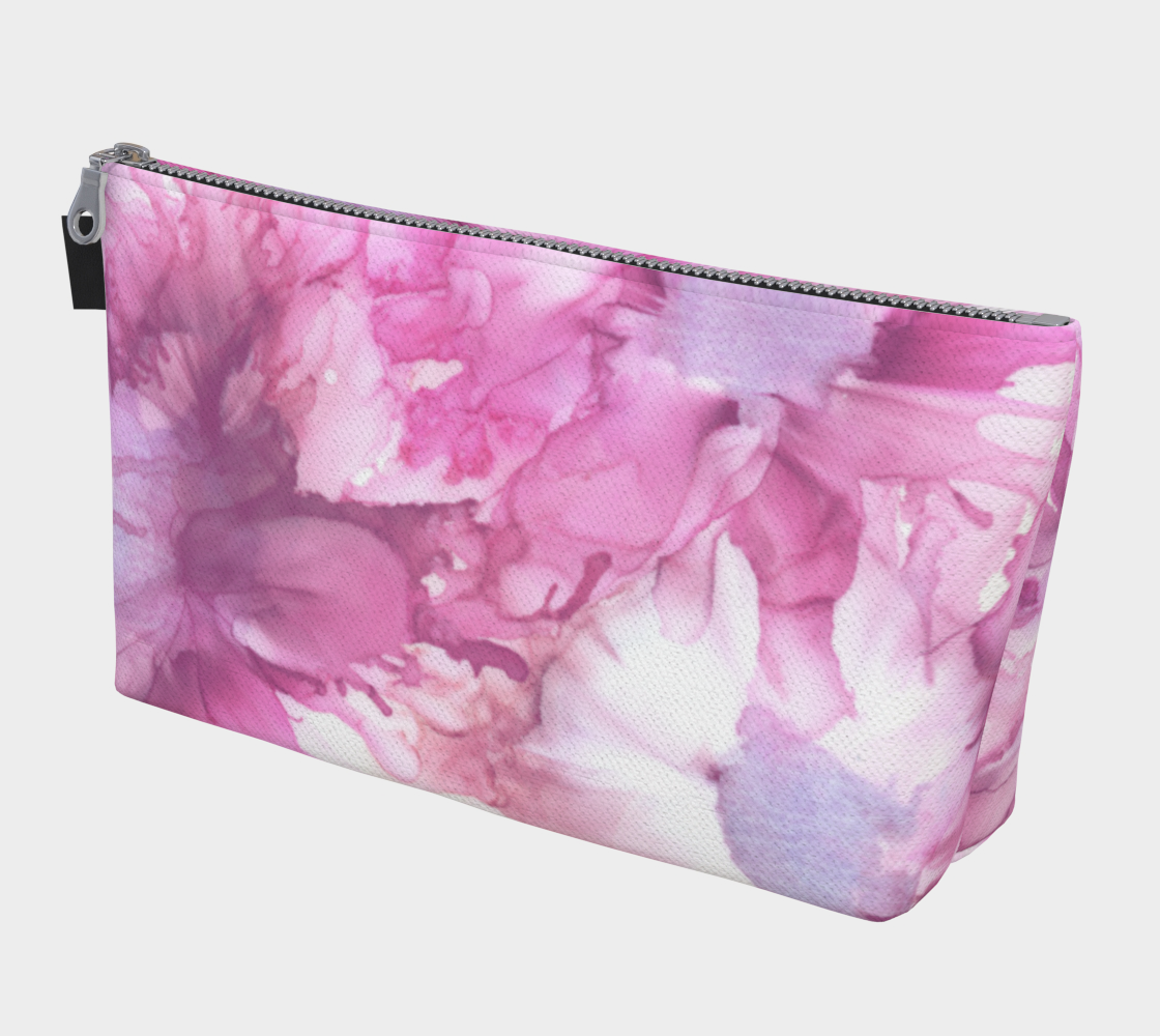 Makeup Bag:  Pink Ladies