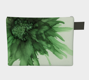 Clutch Purse:  Green Queen