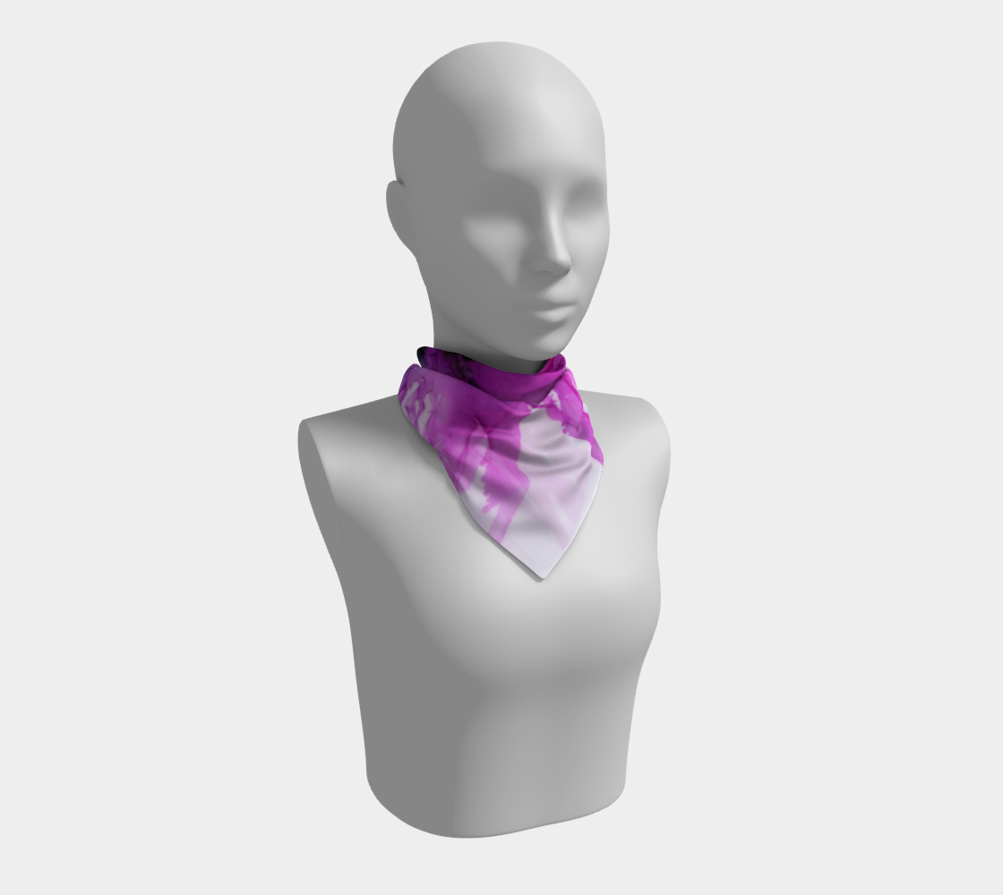 Square Scarf:  Lady Magenta
