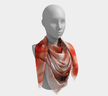 Load image into Gallery viewer, Square Scarf:  Summer Solstice