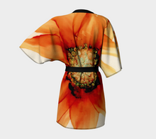 Load image into Gallery viewer, Kimono Robe:  Mandarin Orange