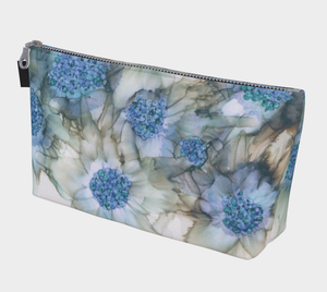 Makeup Bag:  Blue Rhapsody