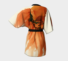Load image into Gallery viewer, Kimono Robe:  Tangerine Tutu