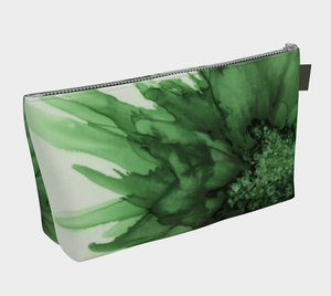 Makeup Bag:  Green Queen