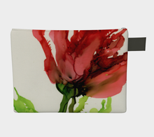 Load image into Gallery viewer, Clutch Purse:  Floppy Poppy