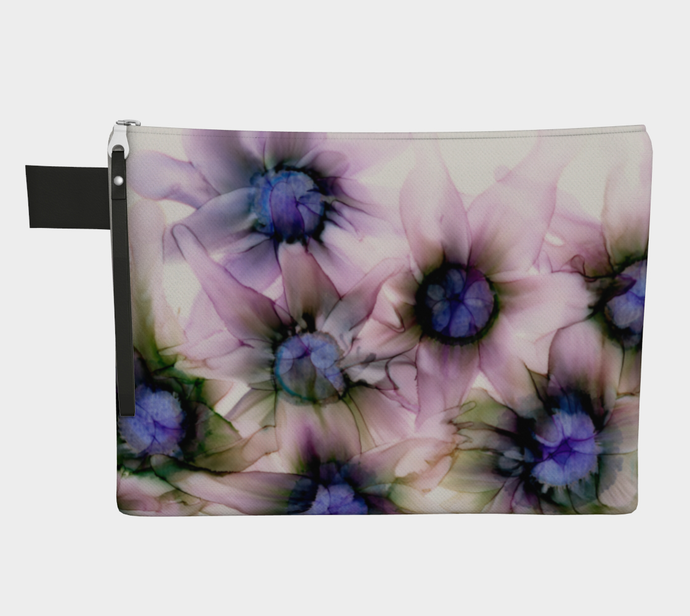Clutch Purse:  Lavender Lights