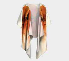Load image into Gallery viewer, Draped Kimono:  Tangerine Tutu