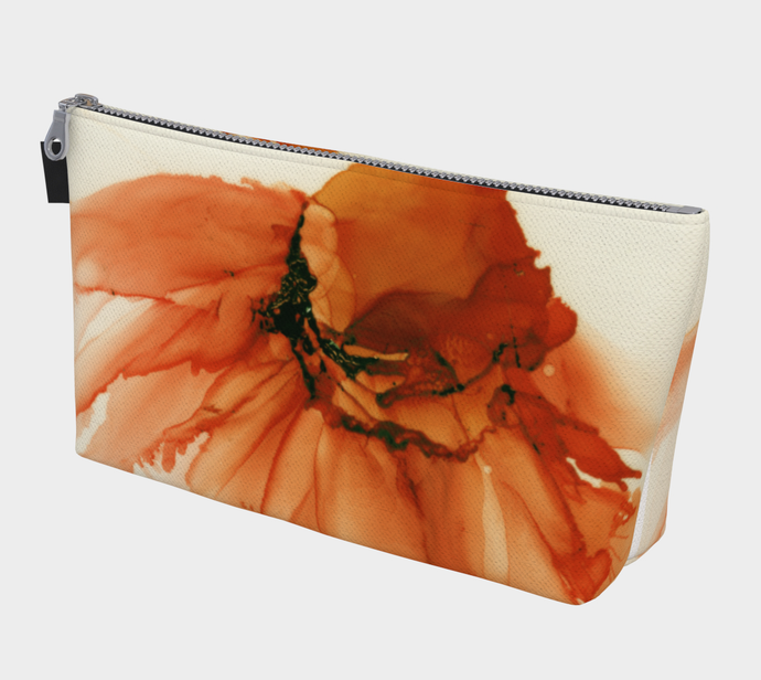Makeup Bag:  Tangerine Tutu