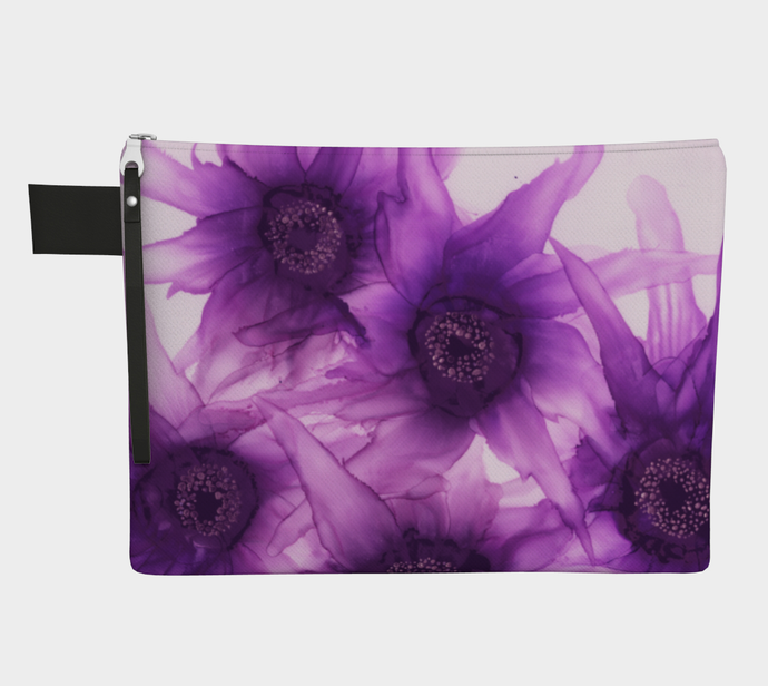 Clutch Purse:  Purple Phaze