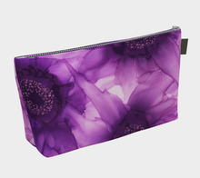 Load image into Gallery viewer, Makeup Bag:  Purple Phaze