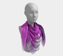 Load image into Gallery viewer, Square Scarf:  Lady Magenta