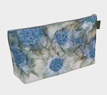 Load image into Gallery viewer, Makeup Bag:  Blue Rhapsody