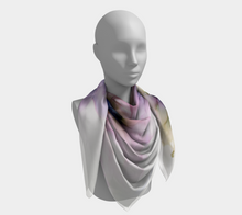 Load image into Gallery viewer, Square Scarf:  Lavender Lights