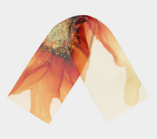 Load image into Gallery viewer, Long Scarf:  Mandarin Orange