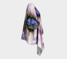 Load image into Gallery viewer, Draped Kimono:  Lavender Lights