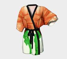 Load image into Gallery viewer, Kimono Robe:  Coral Crushed