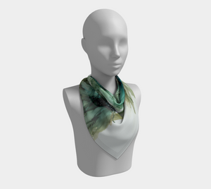 Square Scarf:  Three Sisters