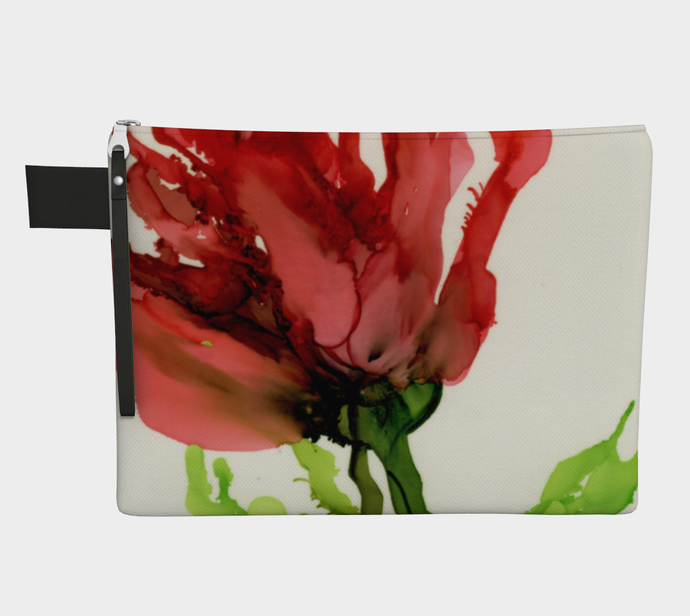 Clutch Purse:  Floppy Poppy
