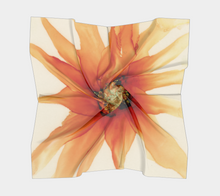 Load image into Gallery viewer, Square Scarf:  Mandarin Orange