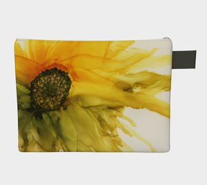 Clutch Purse:  September Sunflower