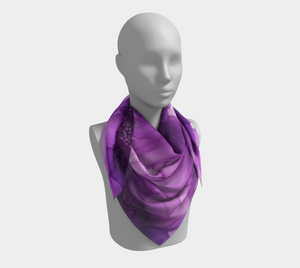 Square Scarf:  Purple Phaze