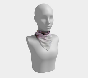 Square Scarf:  Lavender Lights