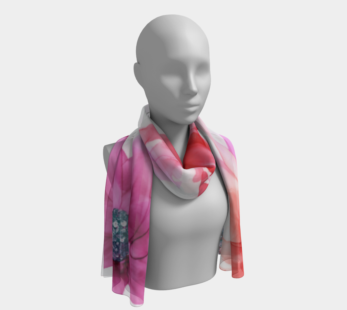 Long Scarf:  Moulin Rouge