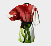 Load image into Gallery viewer, Kimono Robe:  Floppy Poppy