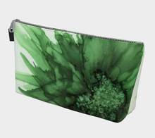 Load image into Gallery viewer, Makeup Bag:  Green Queen