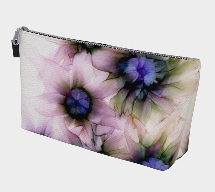 Makeup Bag:  Lavender Lights