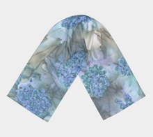 Load image into Gallery viewer, Long Scarf:  Blue Rhapsody