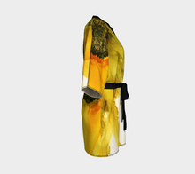 Load image into Gallery viewer, Kimono Robe:  September Sunflower
