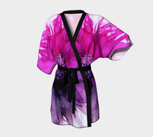 Load image into Gallery viewer, Kimono Robe:  Lady Magenta