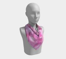Load image into Gallery viewer, Square Scarf:  Pink Ladies