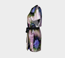 Load image into Gallery viewer, Kimono Robe:  Lavender Lights