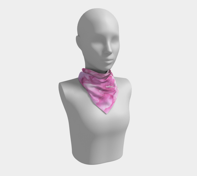 Square Scarf:  Pink Ladies