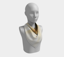 Load image into Gallery viewer, Square Scarf:  Gold Strike