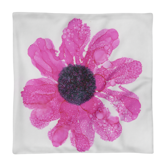 Basic Pillow Case:  Dewy Blossom