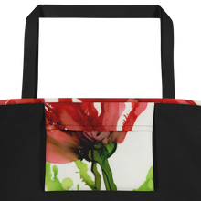 Load image into Gallery viewer, Tote with pocket:  Floppy Poppy