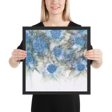 Load image into Gallery viewer, Framed poster:  Blue Rhapsody