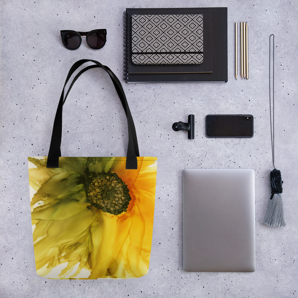 Tote bag:  September Sunflower