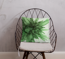 Load image into Gallery viewer, Basic Pillow:  Green Queen