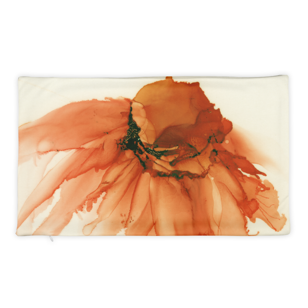 Basic Pillow Case:  Tangerine Tutu