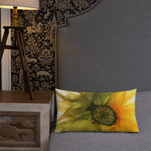 Load image into Gallery viewer, Premium Pillow:  September Sunflower