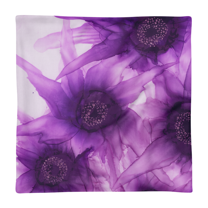 Premium Pillow Case:  Purple Phaze