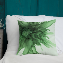 Load image into Gallery viewer, Premium Pillow: Green Queen