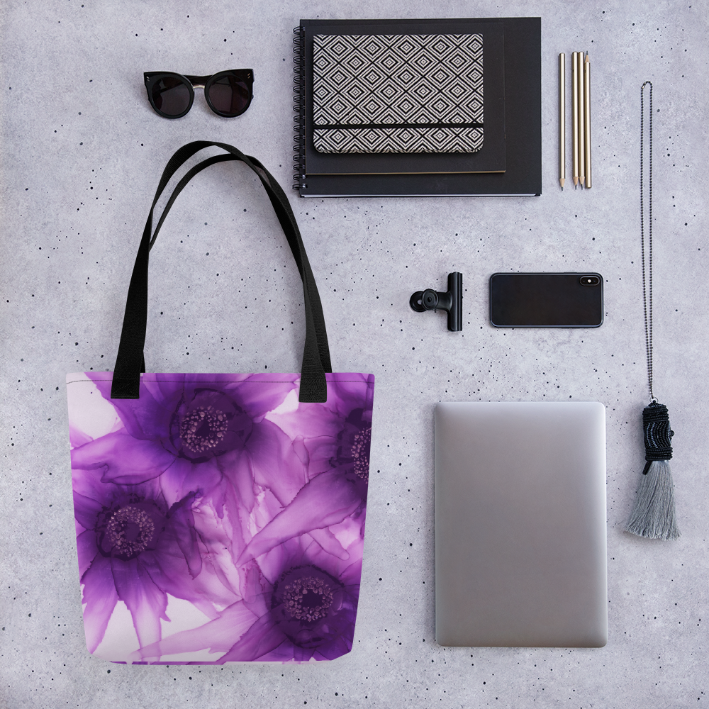 Tote bag:  Purple Phaze