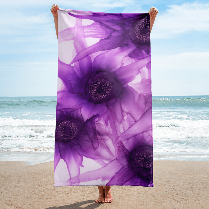 Towel:  Purple Phaze